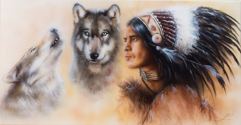 Zwei Wölfe – eine Metapher über die Kraft der Gedanken